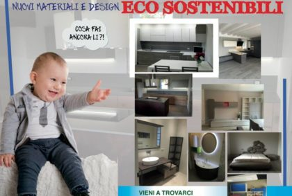 Nuovi materiali e design ECO SOSTENIBILI