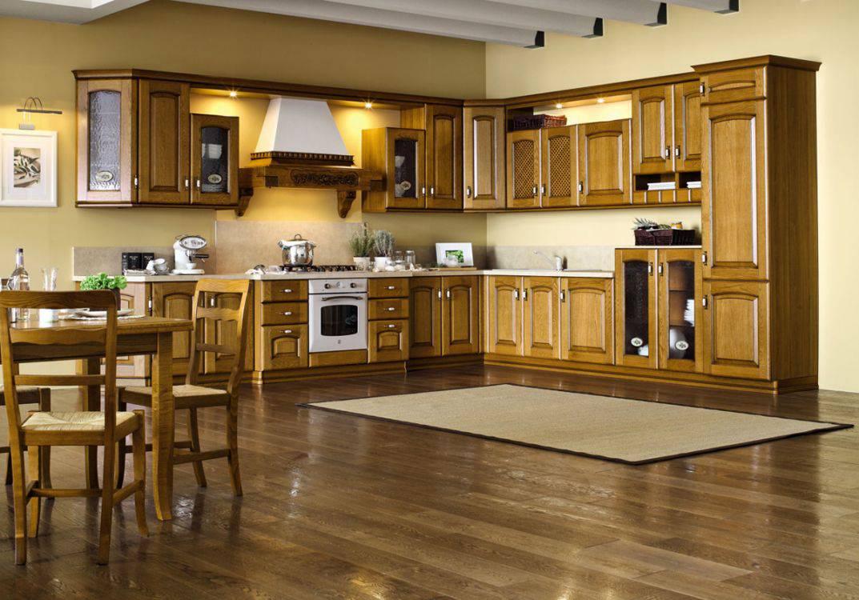 Cucina  classica Rovere