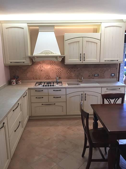 cucina classica bianco antico