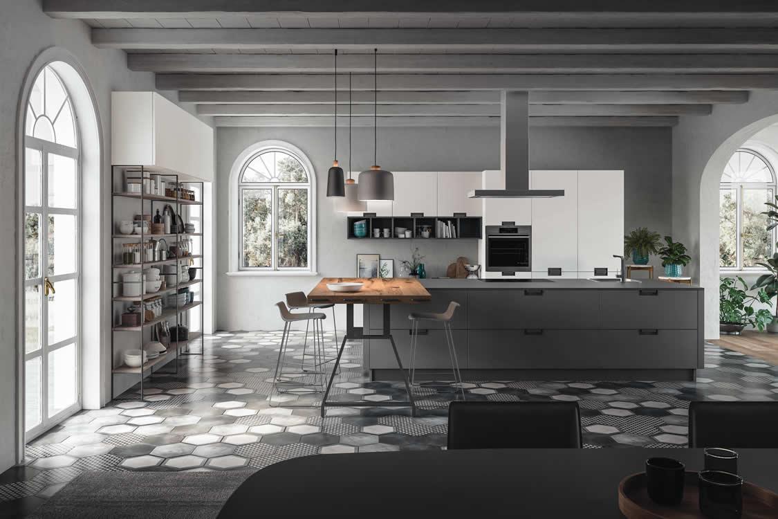 Cucina in Fenix - Cucina moderna