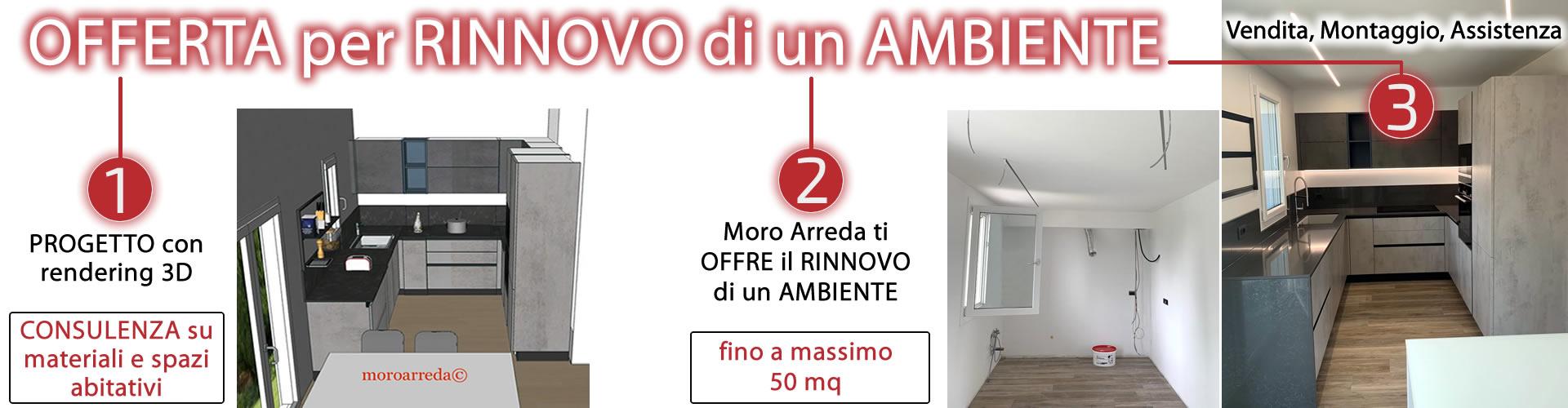 Banner OFFERTA per RINNOVO di un AMBIENTE - MORO ARREDA